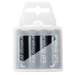 4x akumulatorki Eneloop Pro R6 AA 2550mAh box